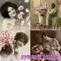 Салфетка- 905 La vie en Rose