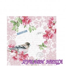 Салфетка за декупаж- 056A Сладка Птица