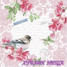Салфетка за декупаж- 056 Сладка Птица