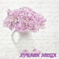 Салфетка- 132 Цветя в кана