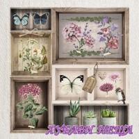 Салфетка- 0827 Herbarium