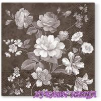 Салфетка- 1471 Beautiful Mystery brown 1бр