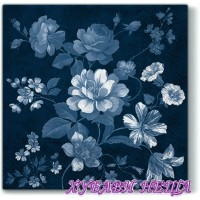 Салфетка- 1472 Beautiful Mystery dark blue 1бр