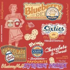 Салфетка- 757 American Vintage Food